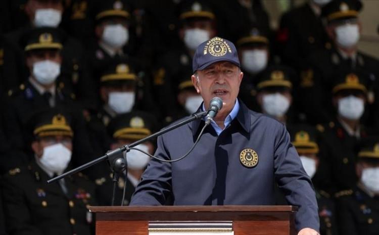 Akar: Naša hrabra vojska nastavlja unutar i van svojih granica odlučno voditi svoju borbu protiv svih rizika
