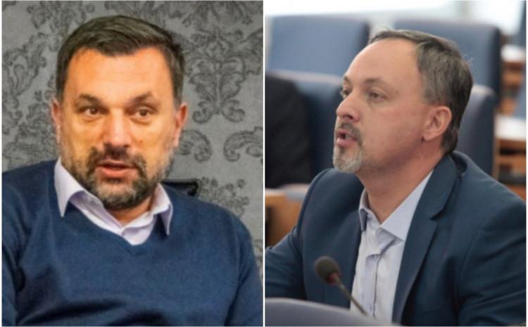 Elmedin Konaković i Mahir Dević
