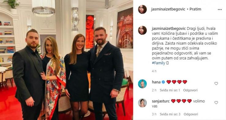Status Jasmine Izetbegović