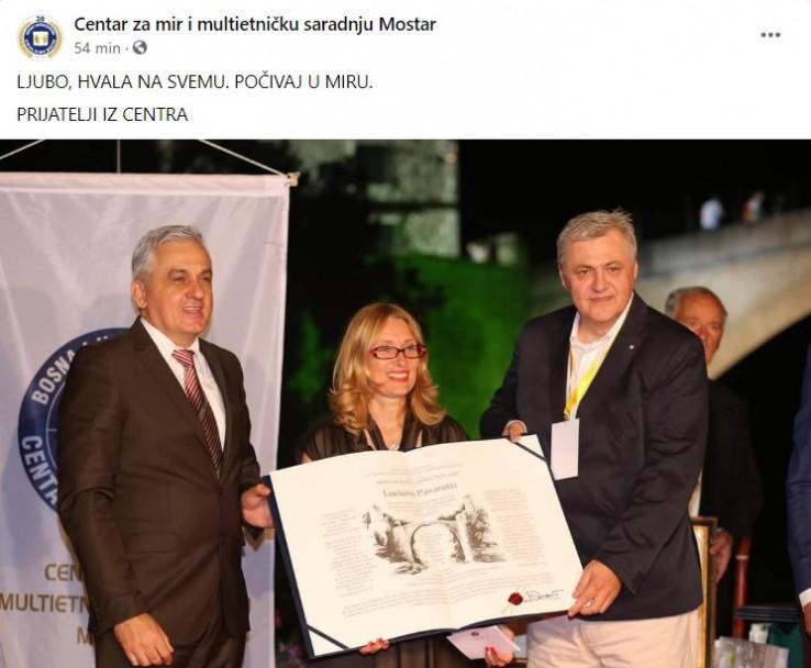 Objava Centra za mir i multietničku saradnju Mostar
