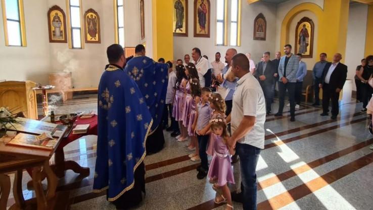 Srboljub Đurić je istakao da mu je čast što je Dodik kumovao njegovoj djeci