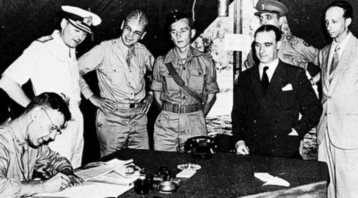 Potpisivanje kapitulacije Italije