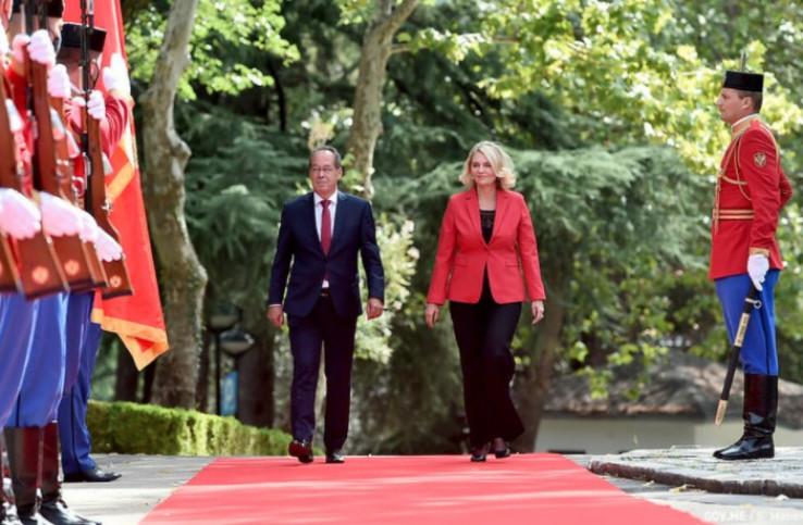 Injac je izrazila punu podršku evroatlantskim integracijama BiH