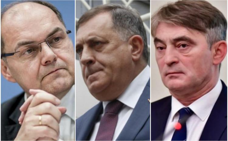 Šmit, Dodik i Komšić: Preslagivanje na političkoj sceni