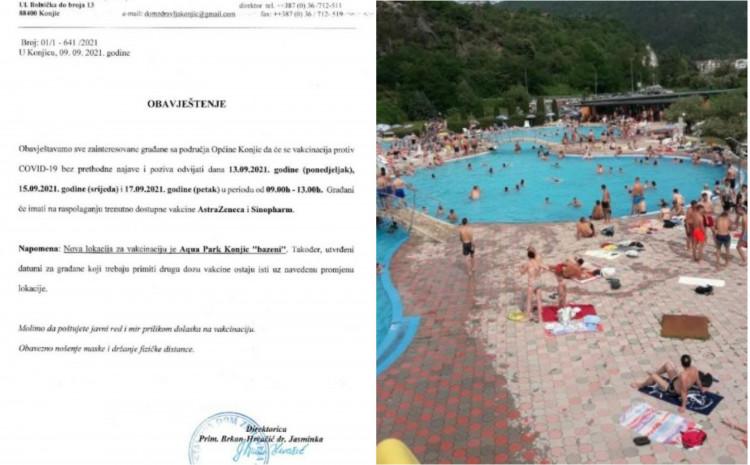 Imunizacija na bazenu