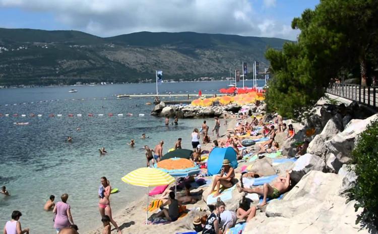 Najtoplije more Herceg Novom, na plažama Žanjice i Mirišta, ali i u Rosama i Igalu