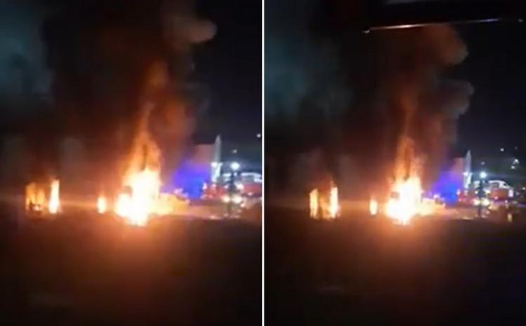 Požar u Rajlovcu