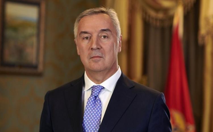 Predsjednik Crne Gore i lider DPS-a Milo Đukanović