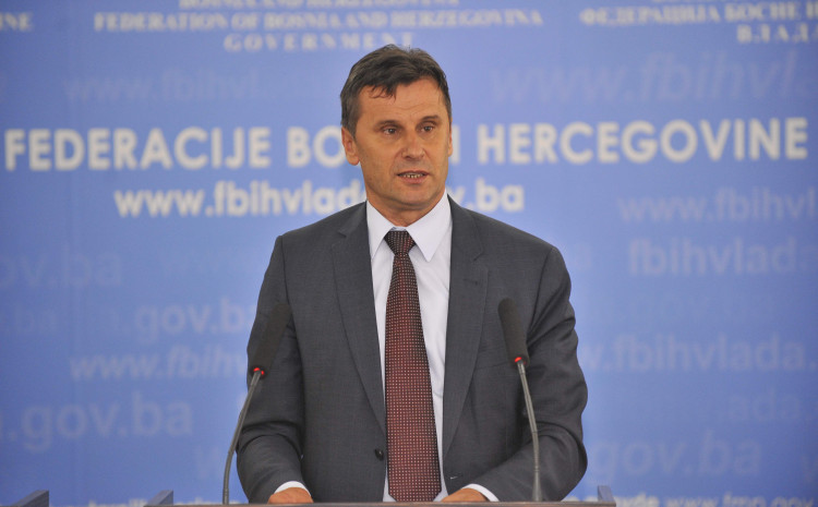 Premijer Federacije Bosne i Hercegovine Fadil Novalić