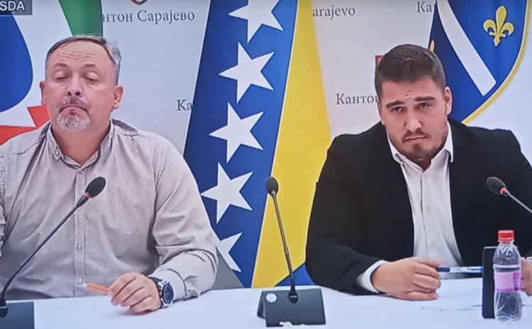 Dević i Zahiragić na konferenciji za medije