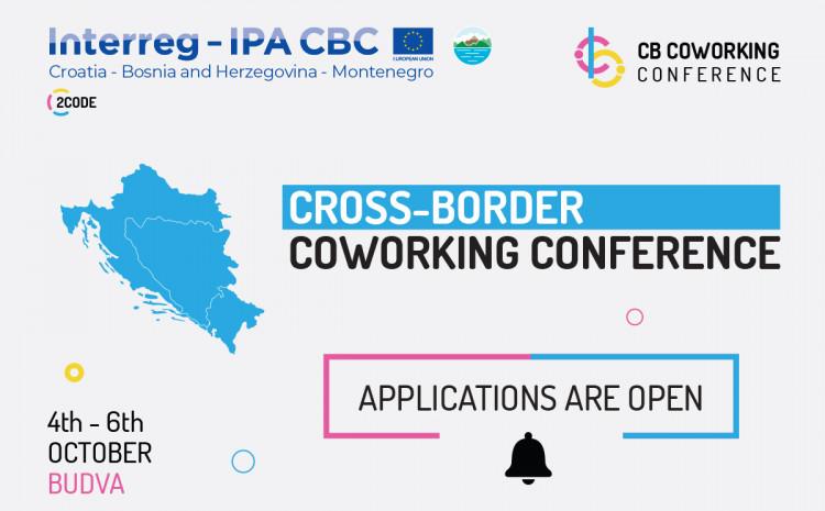 Otvorene prijave za Cross Border Coworking Conference
