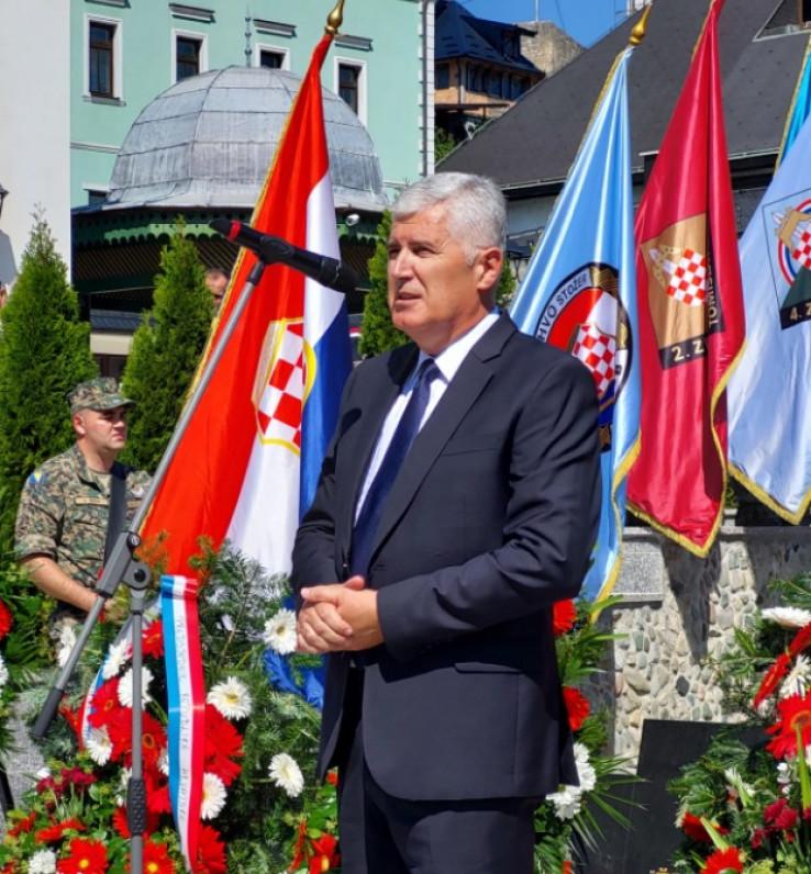 Čović: Nama u BiH ne treba niko ništa davati, to je naše, to smo krvlju platili W873