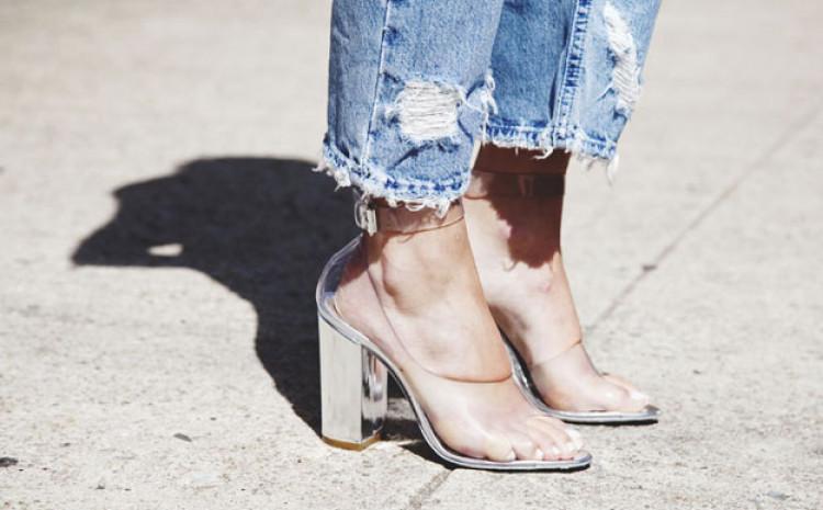 Prozirne cipele u trendu nekoliko godina