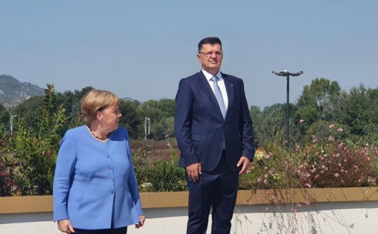 Angela Merkel i Zoran Tegeltija