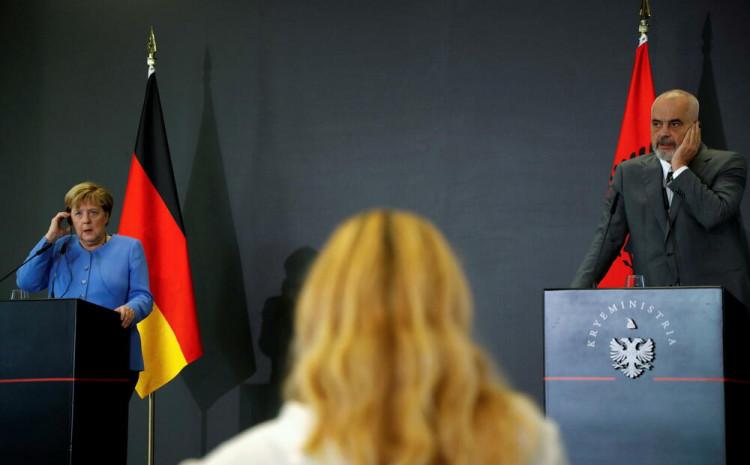 Merkel i Rama: Važna saradnja