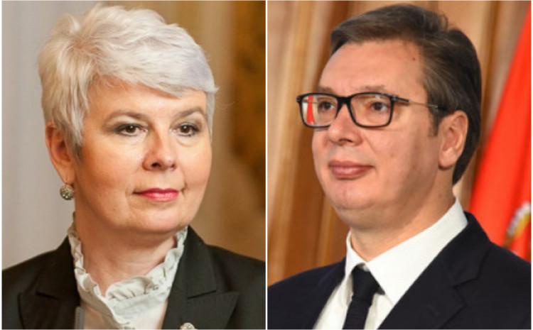 Jadranka Kosor i Aleksandar Vučić