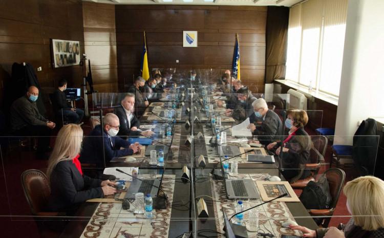 Predstavnici boraca danas na sastanku u resornom ministarstvu