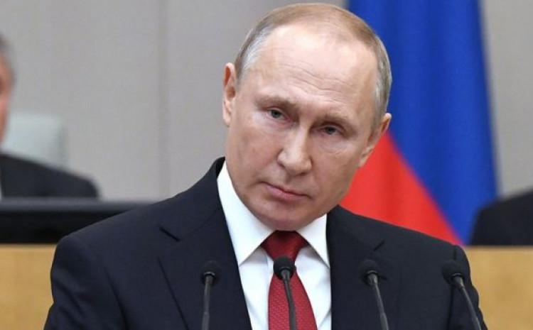 """Putin: """"Testirao"""" ruski vakcinu"""
