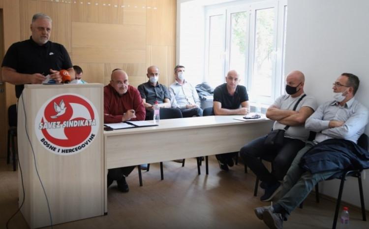 Sastanak sindikata komunalne privrede Kantona Sarajevo