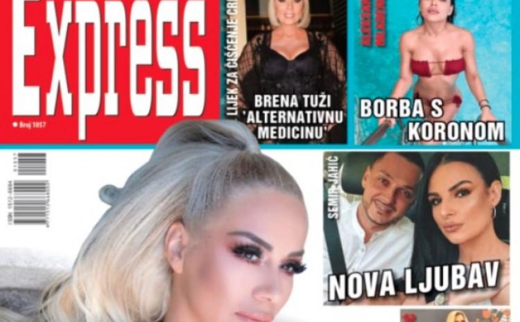 Naslovna strana novog broja Expressa