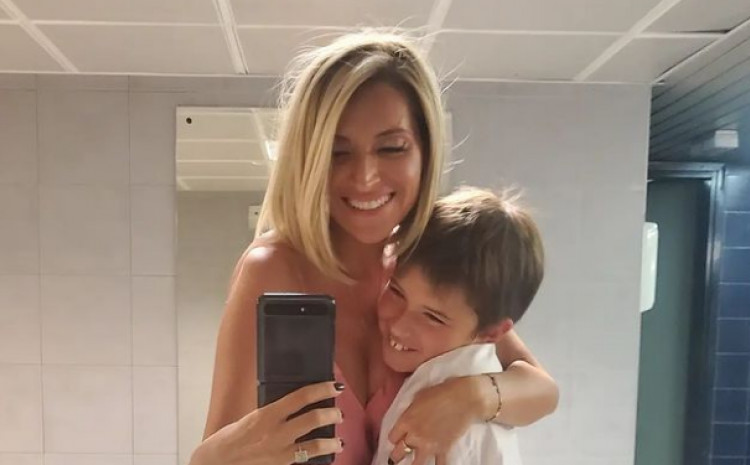 Anđelka sa sinom