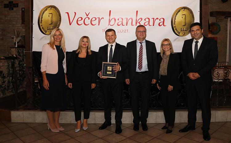 "ASA Banka dobitnik nagrade ""Zlatni BAM"""
