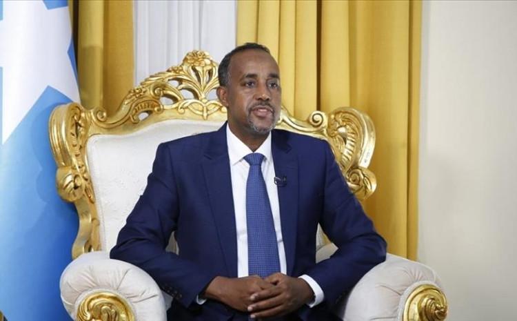 Somali Prime Minister Mohamed Hussein Roble