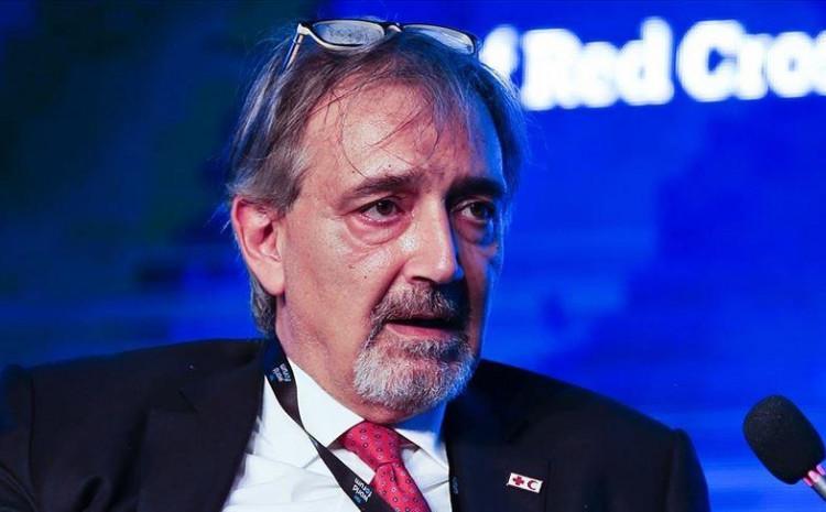 IFRC President Francesco Rocca