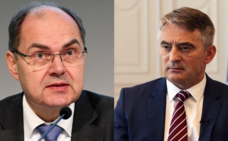 Kristijan Šmit i Željko Komšić