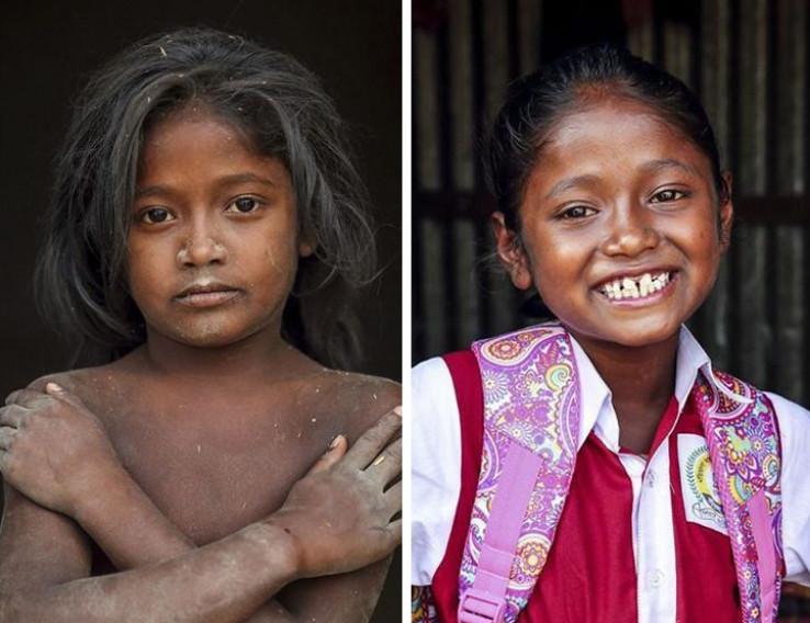 Djevojčica kojoj je omogućeno obrazovanje
