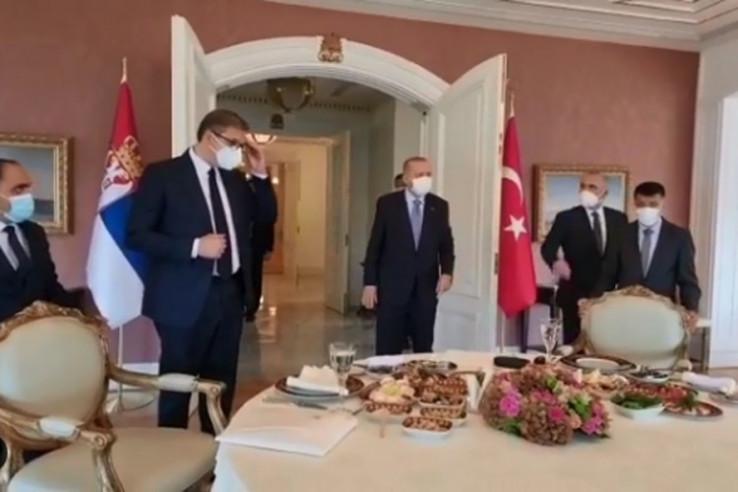 Sastanak Vučića i Erdoana