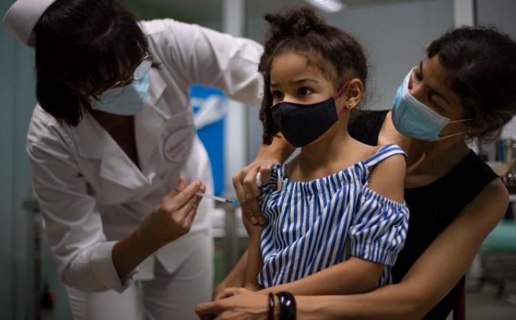 Kuba je postala prva država na svijetu koja je započela masovnu vakcinaciju djece od 2 godine