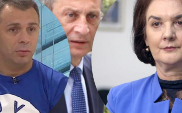 Avdo Avdić, Osman Mehmedagić i Gordana Tadić