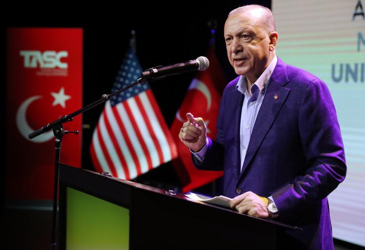 Predsjednik Turske Redžep Tajip Erdoan u Njujorku