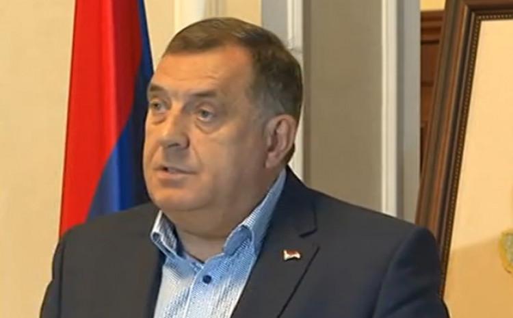 Milorad Dodik na pres konferenciji u Banjoj Luci