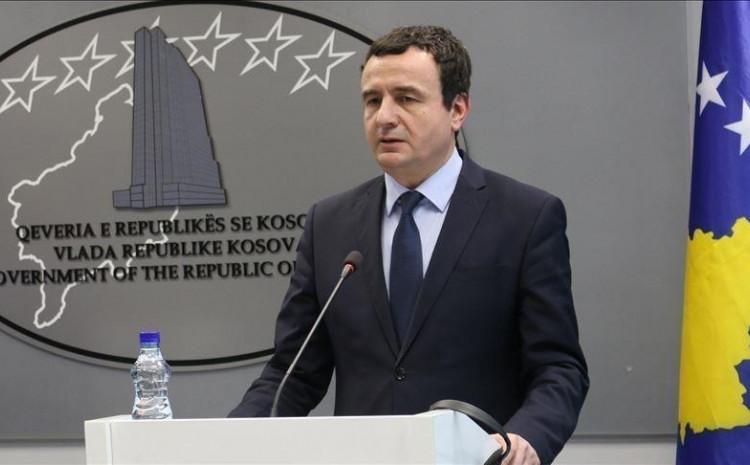 Premijer Kosova Aljbin Kurti
