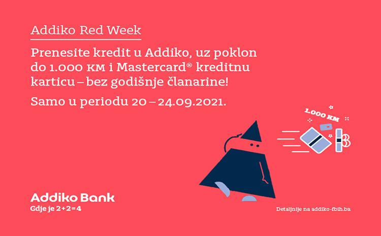 Prenesite kredit u Addiko, uz poklon do 1000 KM i Mastercard kreditnu karticu bez godišnje članarine