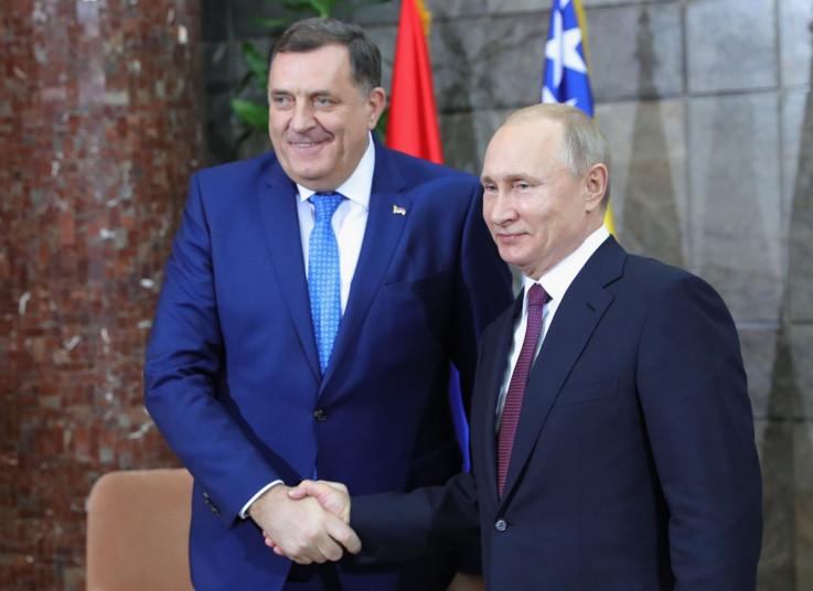 Dodik i Putin: Plan za potiskivanje Amerike i EU sa zapadnog Balkana