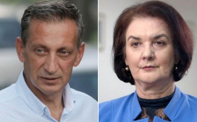 Osman Mehmedagić i Gordana Tadić