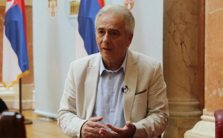 Predsjednik Odbora Skupštine Srbije za Kosovo Milovan Drecun