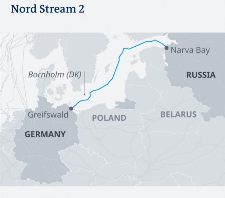 Sjeverni tok 2 povezuje Rusiju i Njemačku
