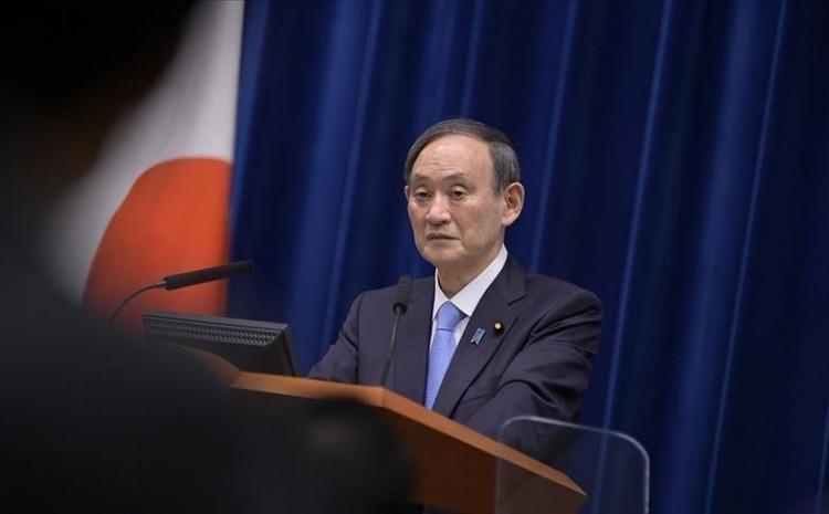 Prime Minister Yoshihide Suga