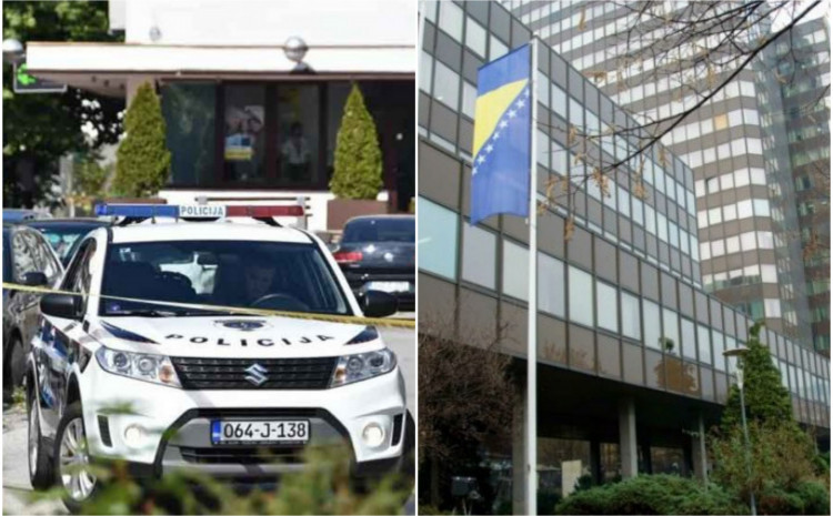 U zgradi Vlade FBiH intervenirali policajci