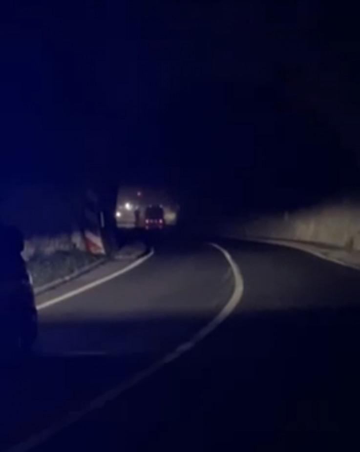 Intervencija vatrogasaca u tunelu