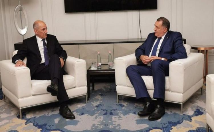 Janez Janša i Milorad Dodik