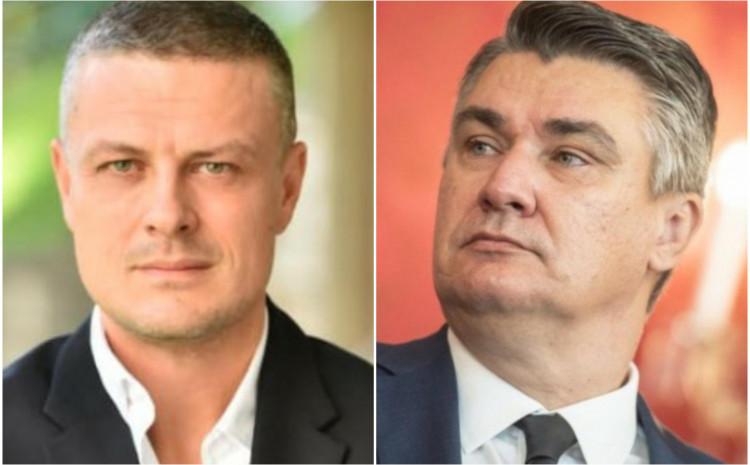 Vojin Mijatović: Milanović je luđak! Komšić: Milanović je gori od Vučića! 873x400