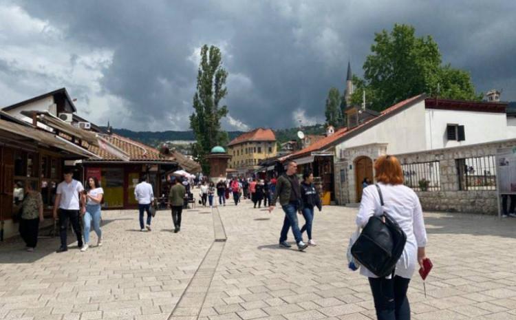 U Sarajevu bit će umjereno do pretežno oblačno vrijeme