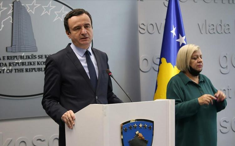 Premijer Kosova Aljbin Kurti: Izjave predsjednika Srbije Aleksandra Vučića ne služe normalizaciji odnosa
