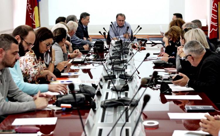 Tokom sjednice Predsjedništva SDP-a