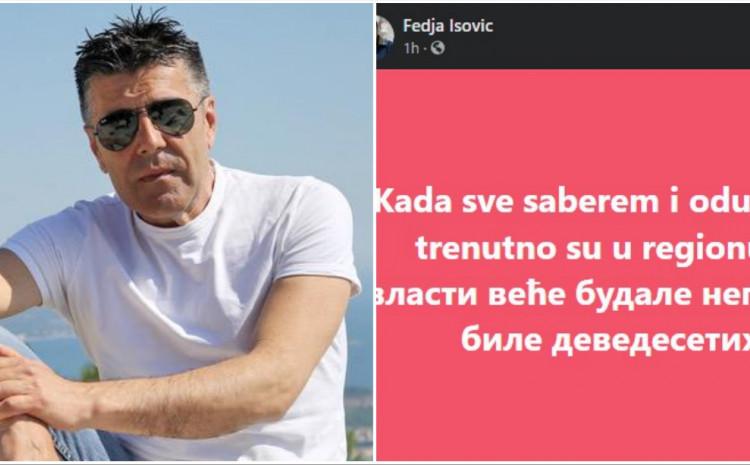 Isović: Sabrao i oduzeo sve